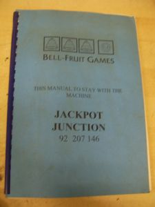 Jackpot Junction - Scorpion 4 Fruit Machine Manual